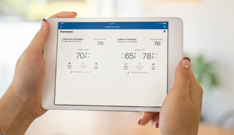 Thermostat control in South Bend